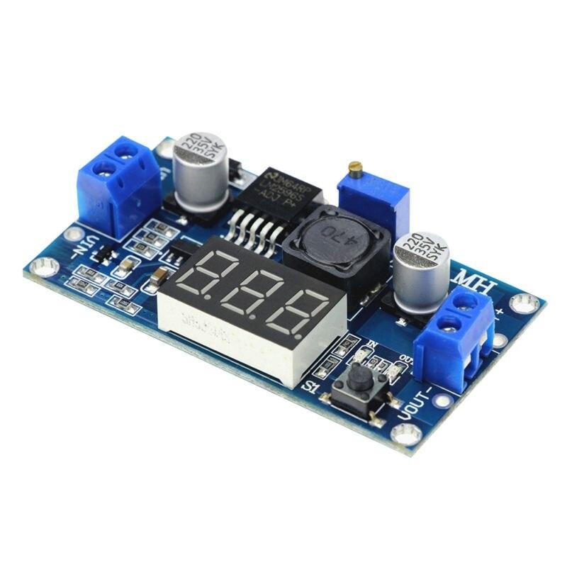 2.5 ~ 36v 1.25-35v Dc-dc Feather Coats Vonvert Tool Adjustable Power Supply Module Dc Voltage Regulator Led Voltmeter In Pain Tools