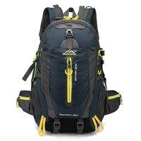 40L Backpack Climbing Backpack Women Men Water Resistant Travel Backpack Hike Laptop Daypack Trekking Climb Back Bags Rucksack