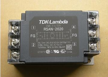 Power filter RSAN-2020 TDK-Lambda / Meilan universal single-phase filter linear phase bernstein filter for equalized the distorted chrominance