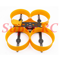 Donut 3inch 140 140mm Frame Kit Mini Drone H Type Frame with 3D TPU Print Parts Prop Guard for DIY RC FPV