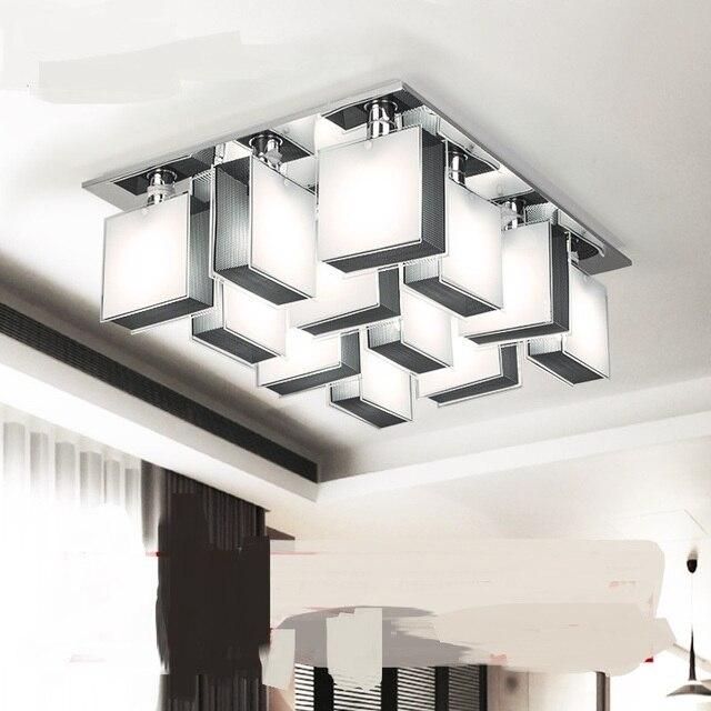 Lage profiel luxe creatieve sfeer woonkamer plafondlamp 4/9/12 hoofd ...