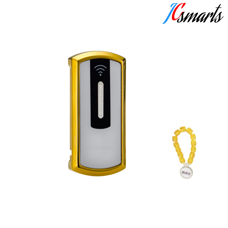 High quality zinc alloy intelligent lock RFID cabinet locker lock for SPA center factory direct sales induction id sauna lock intelligent bath center door cabinet locker code lock