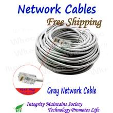 UTP מסוכך מעוות זוג חיצוני רשת כבל במהירות גבוהה עבור 1000 Mbps 8 ליבות משלוח תקע עשה ביד, 3 m, 5 m, 10 m כדי 30 m