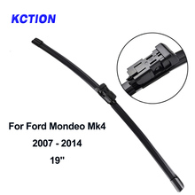 Car Windshield Rear Wiper Blade For Ford Mondeo Mk4 Rear wiper Natural rubber Car Accessories Year From 2007-2014 windshield rear wiper blade windscreen rear wiper arm natural rubber car accessories window for hyundai ix25 year from 2014 2019