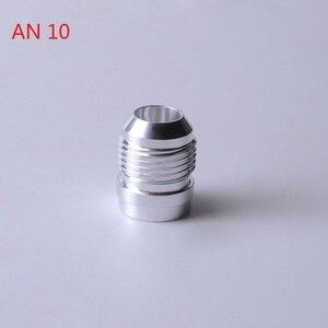 Image 4 - SPEEDWOWอลูมิเนียมคุณภาพสูงAN4 6 8 10 12 16 ANตรงชายWeld Fittingอะแดปเตอร์Weld Bungไนตรัสท่อSilver