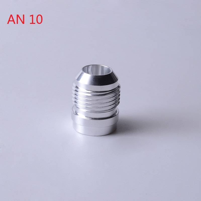 Image 4 - SPEEDWOW Top Quality Aluminum AN4 6 8 10 12 16 AN Straight Male Weld Fitting Adapter Weld Bung Nitrous Hose Fitting Silver-in Fuel Supply & Treatment from Automobiles & Motorcycles