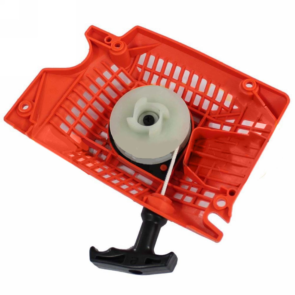 Recoil Pull Start Starter For Chainsaw 4500 5200 5800 Replacement For Chinese Chainsaw 45cc 52cc 58cc Orange Mayitr 4500 5200 5800 45cc 52cc 58cc chinese chainsaw damper spring shock buffer set