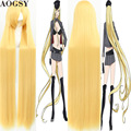 Newest Noragami Bishamon 150cm long  straight synthetic cosplay wig