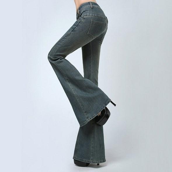 Plus Size High Waist font b Jeans b font Skinny Pants font b Women b font