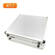 Alüminyum taşıma çantası kutusu mikrofon paketi için SLX24 PGX24 SLX PGX kablosuz mikrofonlar taşınabilir araç kutusu