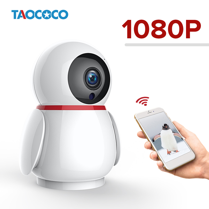TAOCOCO Auto Tracking Surveillance Camera 1080P Wireless WiFi Home Security CCTV Camera IR Night Vision Baby Monitor IP CameraTAOCOCO Auto Tracking Surveillance Camera 1080P Wireless WiFi Home Security CCTV Camera IR Night Vision Baby Monitor IP Camera