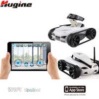 WIFI RC Tank Crawler Radio Control Car Real Time Camera Cars for iPhone iPad iPod App with 0.3MP Camera Electronic Toy Model