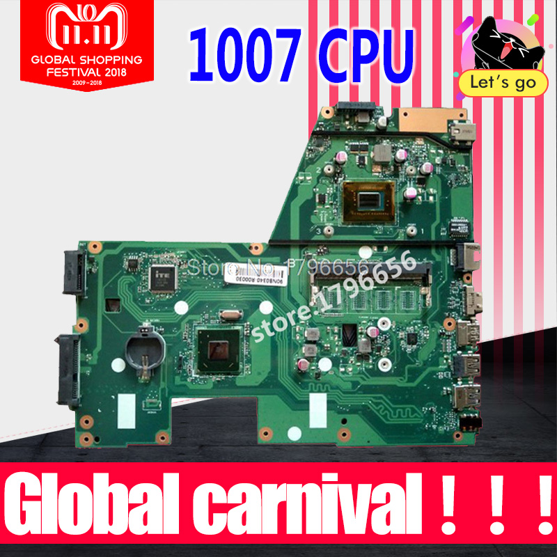 X551CA motherboard for ASUS X551CA Laptop motherboard X551CA mainboard REV2.2 1007u Test work 100% OK kefu x551ca for asus x551ca laptop motherboard x551ca mainboard rev2 2 1007u 100% tested new motherboard freeshipping