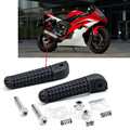 Motorcycle Black Rear Foot Pegs Rest Fit For Yamaha VMAX V-MAX 1700 1200 VMX17 2009-2014