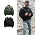 Very good Quality mens jackets and coats winter Ma1 bomber jacket Military kanye west thick Pilot men jackets cotton-padded warm