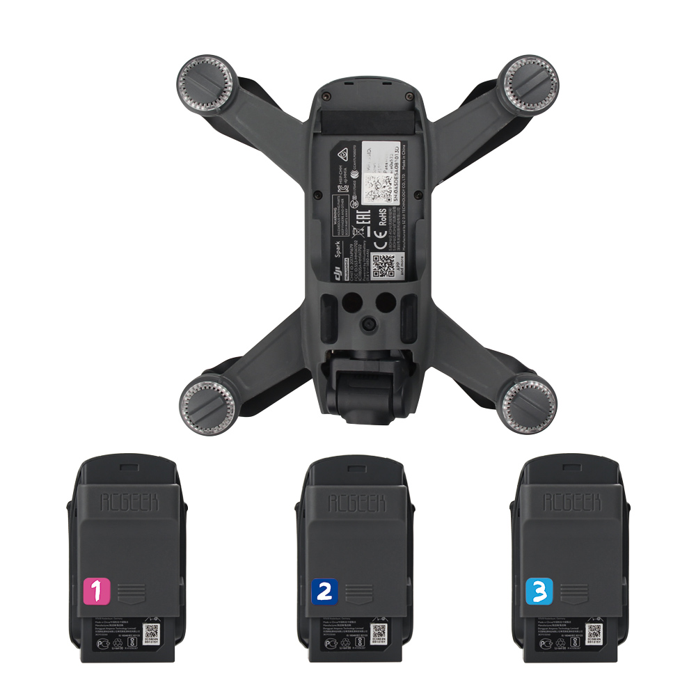 4pcs set 1pcs Drone Port Cap + 3pcs Battery Charger Port Cover Board Dust-proof Short Circuits Protection Guard For  DJI SPARK 1 (6)