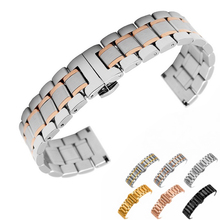 Stainless Steel Watch Band Watchband Wrist Strap For Samsung Gear S3 Frontier Classic Wristband Bracelet 22mm