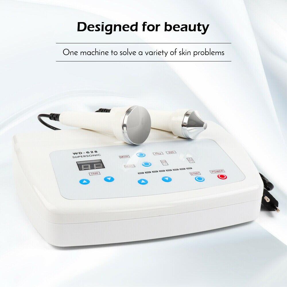 Pro 1 Mhz 3 MHz Machine faciale ultrasonique Anti vieillissement peau levage Salon Spa beauté soins de la peau machine avec éliminer les taches de rousseur