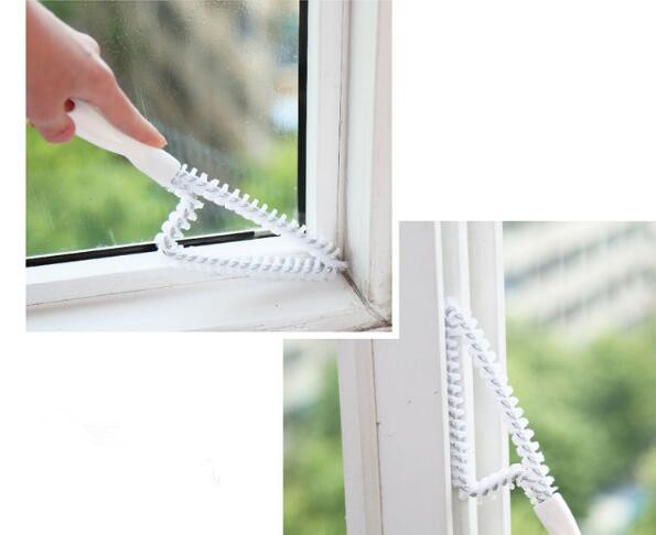 1PC Multipurpose Window Cleaner Groove Cleaning Brush Household Brush Cleaner Keyboard Home Kitchen Brush Cleaning Tool LF 083