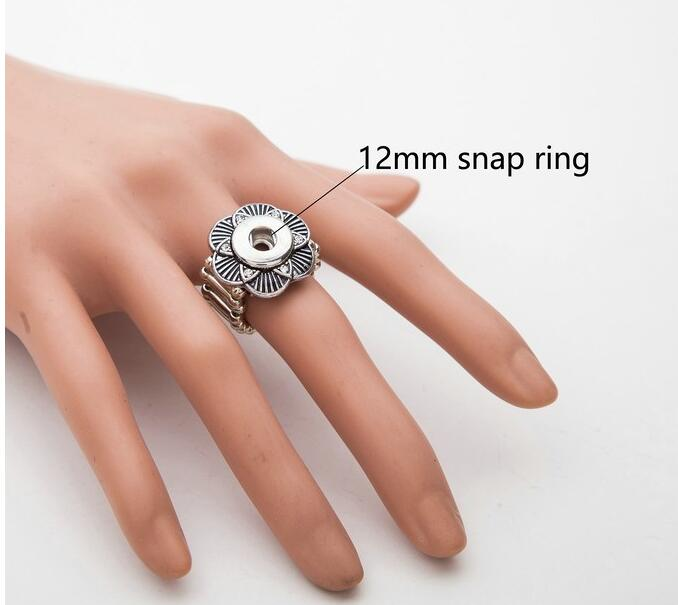 new wholesale 10pcs/lot HOT sale 12mm high quality snap new button watches metal rings fit new hot sale mix styles rhinestone