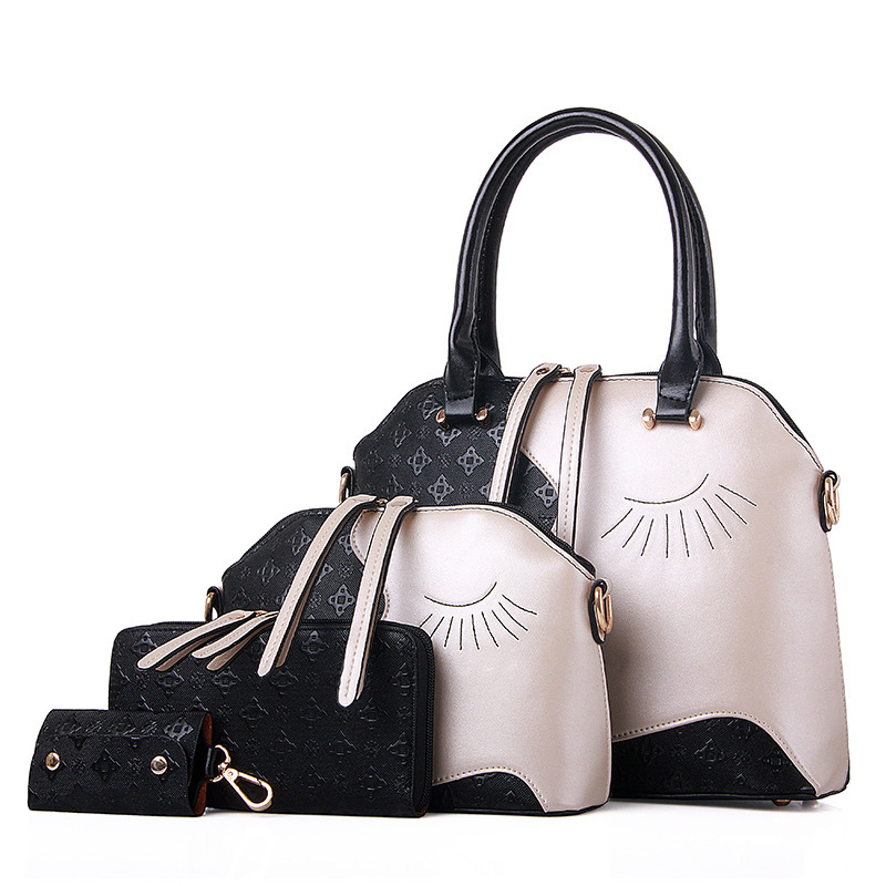 Designer Handbags Pu Leather Bag Women Handbag Shoulder Crossbody Messenger Purse Wallet 4pcs A Sets In Top Handle Bags From Luggage