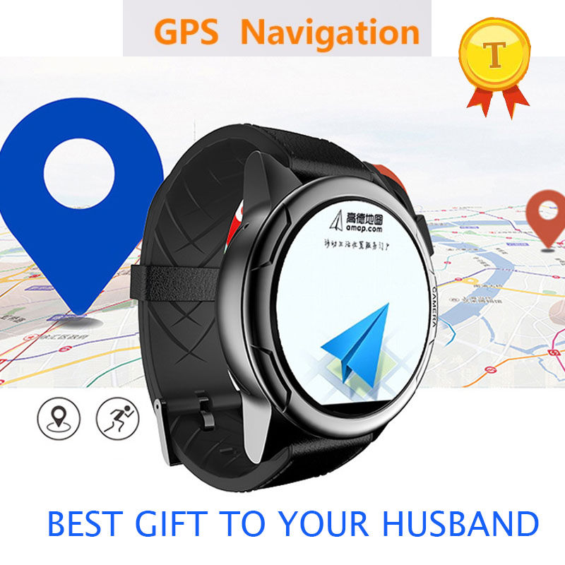 New product IP67 Waterproof gps navigation car 2g 3g 4g sim card Smart Watch support google