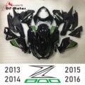 Completa de alta calidad de ABS inyección plásticos carenados Kit para Kawasaki Z800 2013-2016 13 14 15 16 personalizado brillo negro verde nuevo