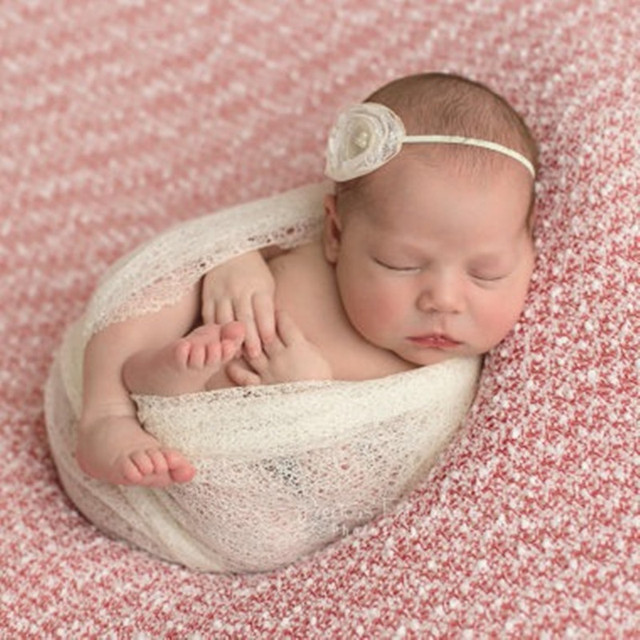 50160cm stretch knit wrap newborn photography props baby kids rayon wraps maternity scarf hammock