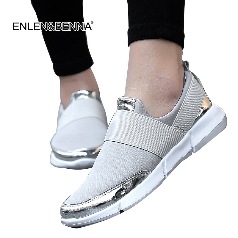 2017 brand mesh breathable Summer shoes women loafers Slip on casual Shoes ultralight flats shoes New zapatillas shoes size35-42 цена