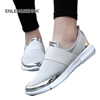2017 Brand Mesh Breathable Summer Shoes Women Loafers Slip On Casual Shoes Ultralight Flats Shoes New