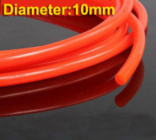 5Meters/Lot Diameter:10mm Red Smooth PU Industrial Round Conveyor Belt