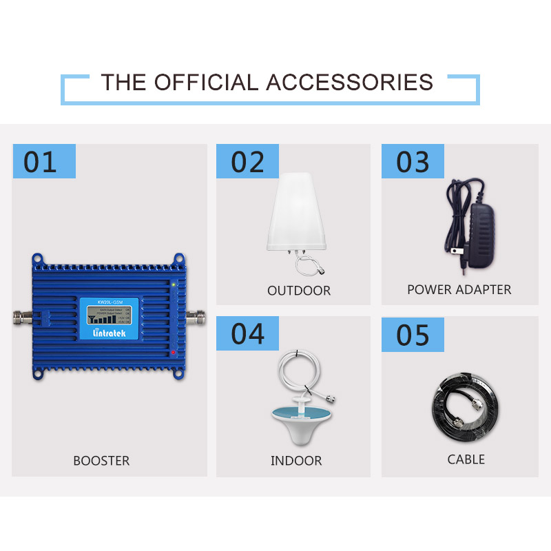 Cell Phone Accessories 1900MHz 2G/3G/4G LTE Cell Phone Signal