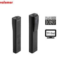 Volemer T190 Mini Camera Full HD 1080P H 264 TV Out DV Camcorder USB Pen Camera