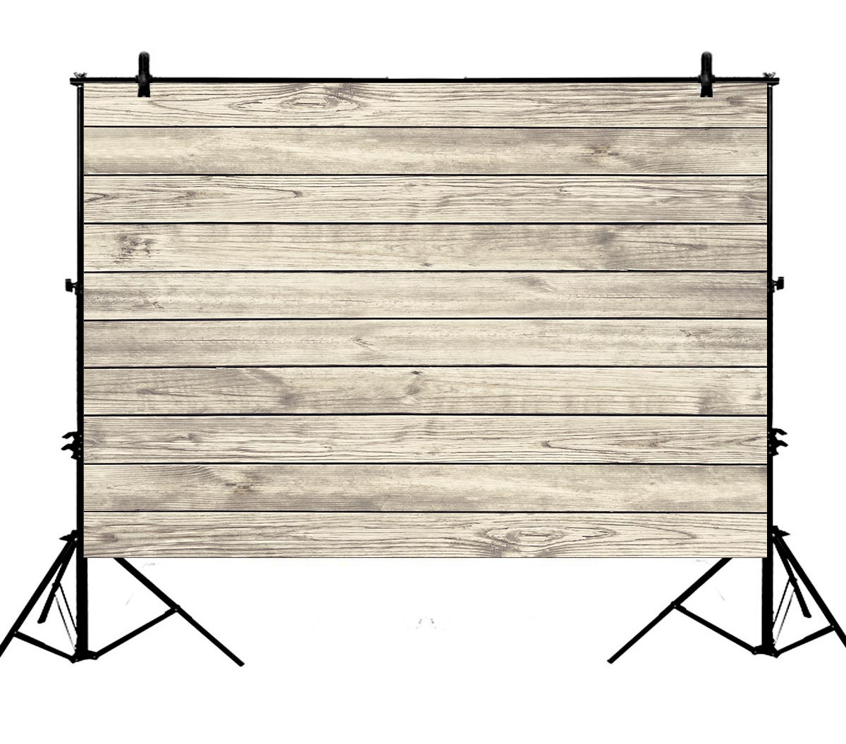 5x7ft Wood Plank Wall Polyester Photo Background Portrait Backdrop