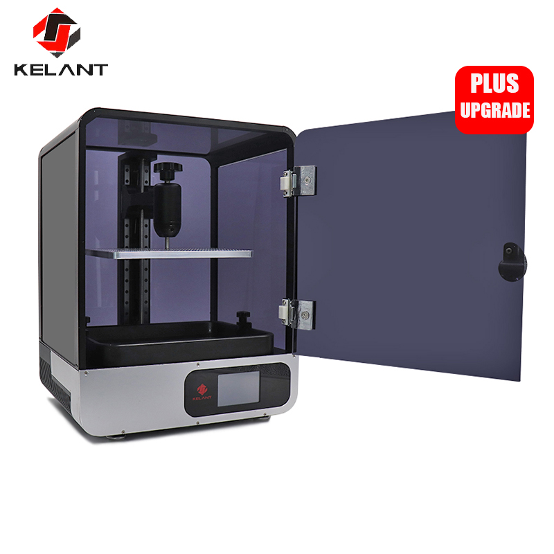 Kelant s400 LCD DLP 3D Impressoras 8.9 polegada 2 K laser 3d Impressora De grande UV Resina SLA de Fótons Light- cure 192*120*200 MILÍMETROS impresora kit diy