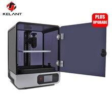 Kelant плюс ЖК-дисплей DLP 3D-принтеры s 8,9 дюймов 2 K лазерной 3D-принтеры большой Фотон УФ-смолы SLA Light-вылечить 192*120*200 мм impresora diy kit