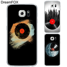 Vinyl record phone case for Samsung Galaxy Note 3 4 5 8 S5 S6 S7 Edge S8 Plus Grand Prime