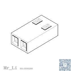 15 38 1026[Headers & Wire Housings SHUNT 2P OPEN] Mr_Li-in