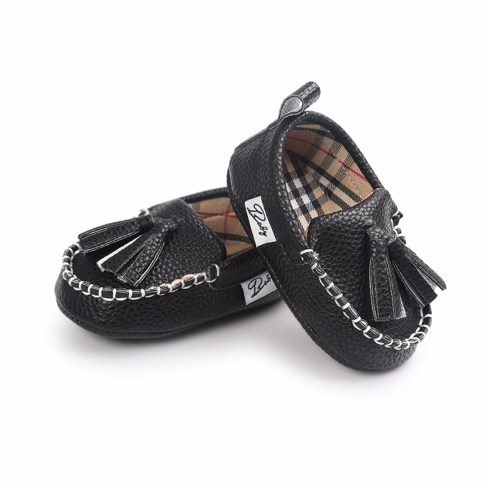 New Tassel Moccasin girls boys 12 color Slippers Tassels Baby Moccasin Newborn Pu Leather Babies Shoes Prewalkers Boots