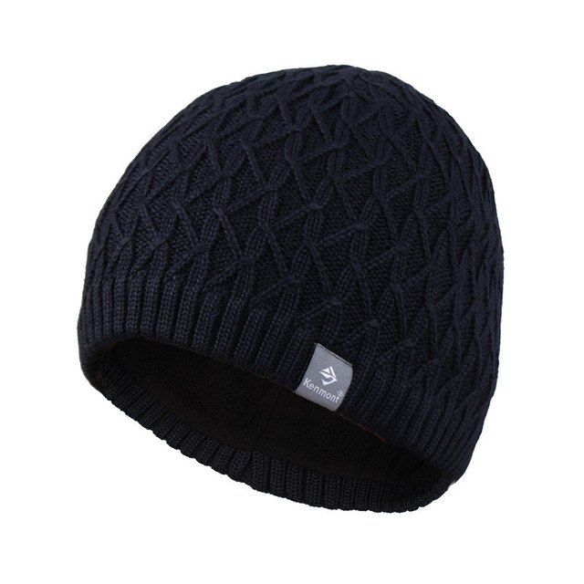 Hot selling Kenmont Men Women Unisex Autumn Winter Acrylic Outdoor Ski Hat  Knitted Beanies Casual Cap 0449f2a54517