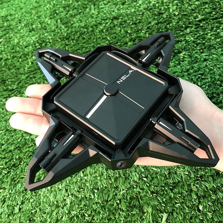 New style WIFI real time Foldable Quadcopter 2.4G 4CH Selfie Drone with WiFi Camera Live Video Alititude Hold Mini rc boy gift Квадрокоптер
