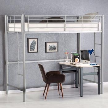 Giantx Lit Mezzanine Double En Métal Lits Superposés échelle Garçons Filles  Adolescents Enfants Chambre Dortoir Chambre Meubles HW56062