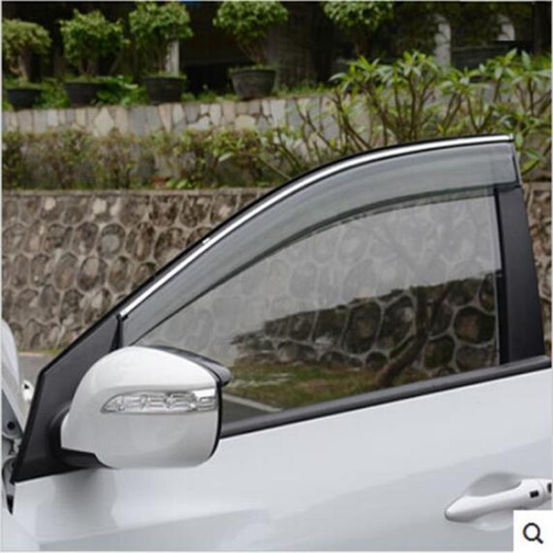 Car Styling Accessories For Hyundai IX35 2012 2013 2014 2015 Auto Parts Stickers Window Awnings Shelters Deflector Guard