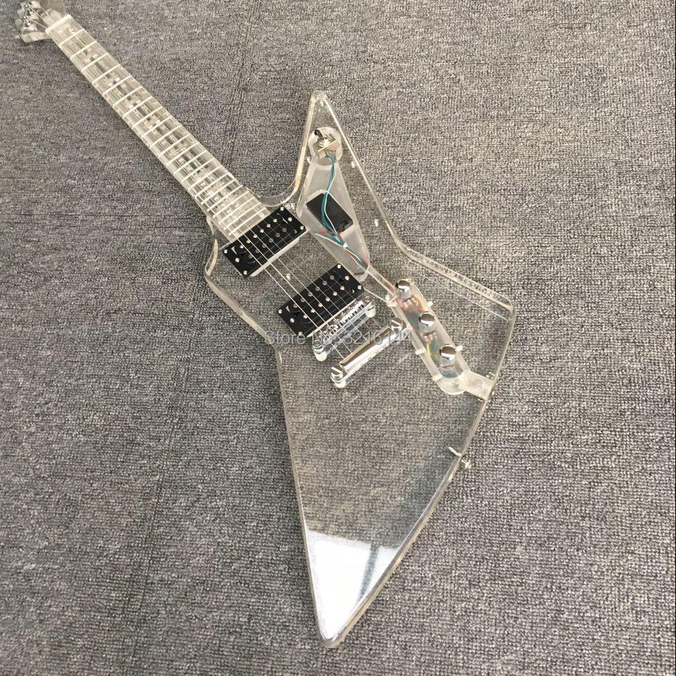 Tutto il nuovo cristallo acrilico chitarra elettrica, speciale a forma di chitarra elettrica, luci blu, fabbrica allingrosso e al dettaglio, foto realiTutto il nuovo cristallo acrilico chitarra elettrica, speciale a forma di chitarra elettrica, luci blu, fabbrica allingrosso e al dettaglio, foto reali