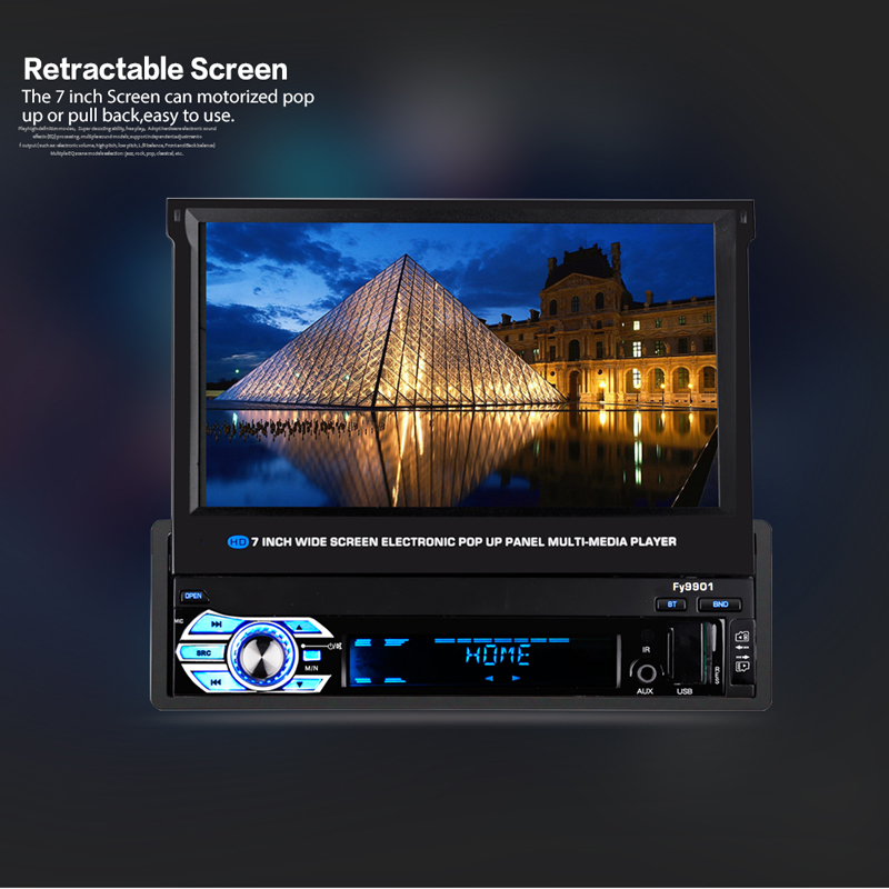 1 Din Car Multimedia Player (2)