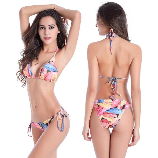 eac0daf2011 Big Large Women Bikini Bathing Suits Plus Size Fully Lined Beachwear  Swimwear Classic Strappy Removable Pad