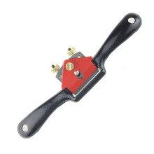 9 Inch Adjustable mini carpenter hand planer woodworking spoke shave edged plane cutter diy carpentry Trimming deburring tool