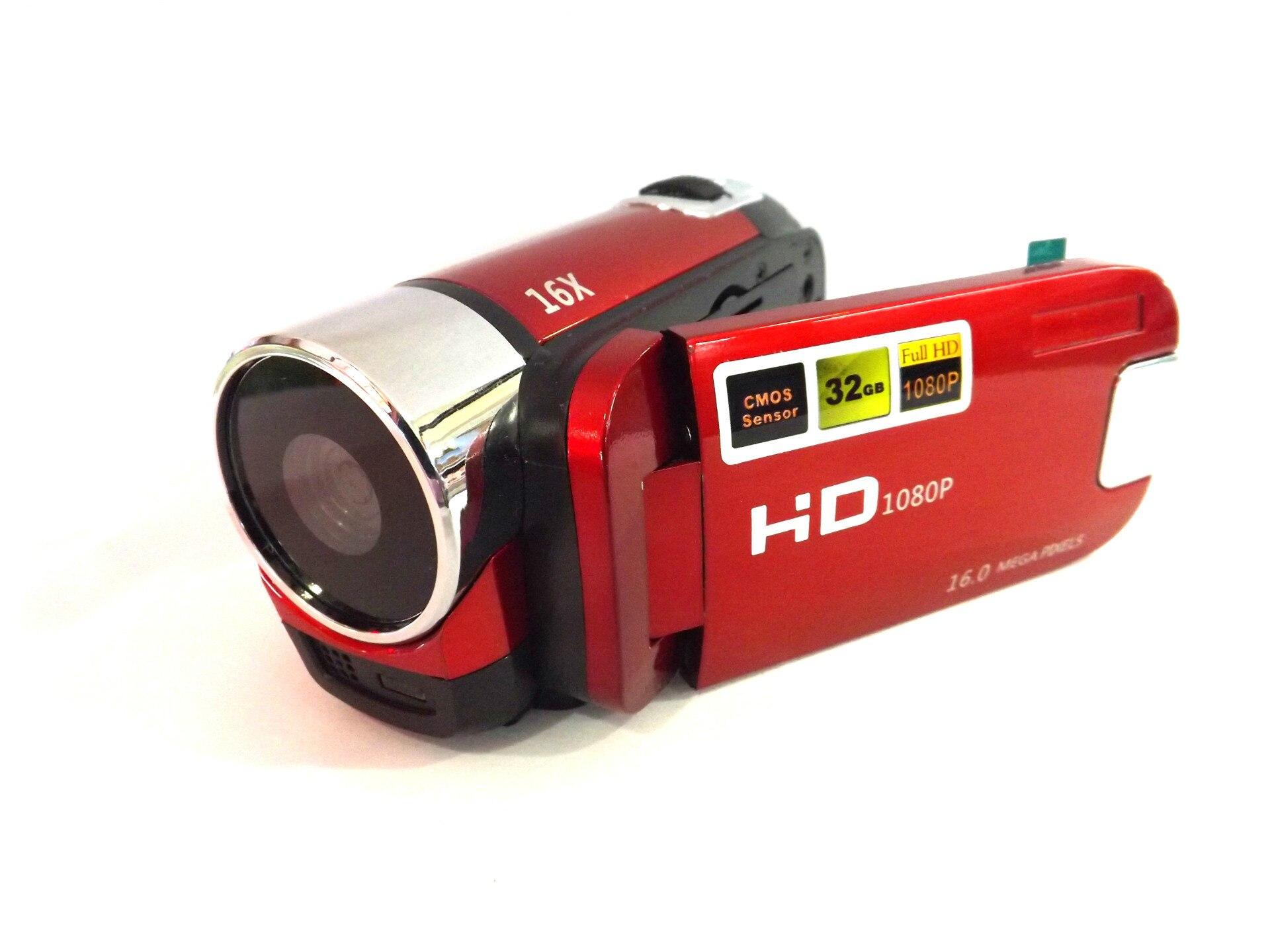 KaRue caméra vidéo numérique HD 1080P 32GB 16x Zoom Mini caméscope DV caméra prise en charge AVI 1080P 720P VGA - 6
