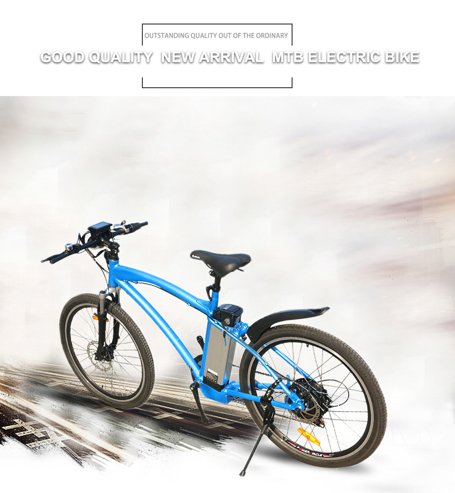 HTB1TzItBOCYBuNkSnaVq6AMsVXaC - 48V 500W 26inch MTB Electrical Bike 48V 12Ah Lithium Battery Mountain Aluminum Alloy 45km/h Quick Velocity 26'' 2.125 Tire LCD Show