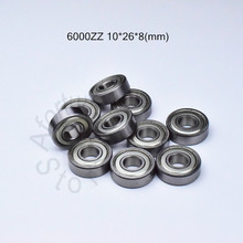 6000ZZ 10 Buah Bantalan 10*26*8 (Mm) ABEC-5 6000 6000z 6000ZZ Chrome Steel Deep Groove Bearing(China)
